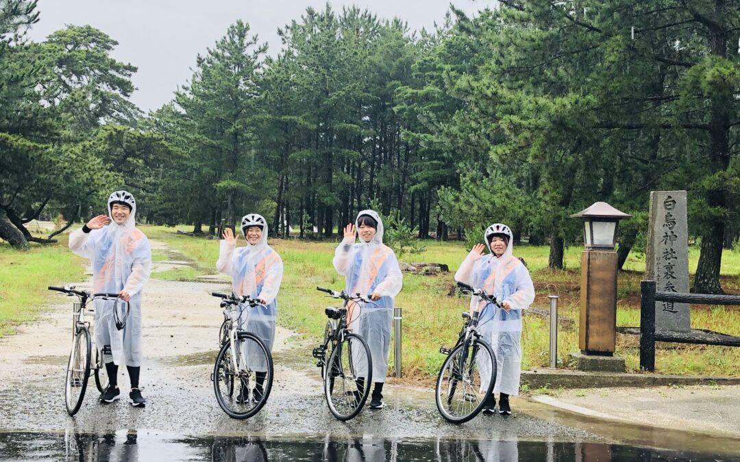 ピースメッセージを携え8か所の市庁を訪問(香川)